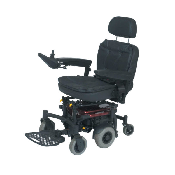 2 Angle Adjustable Backrest Fold Down 3 Height And Seat Base 4 Articulating Front Rear Wheel Axles Help Achieve A More