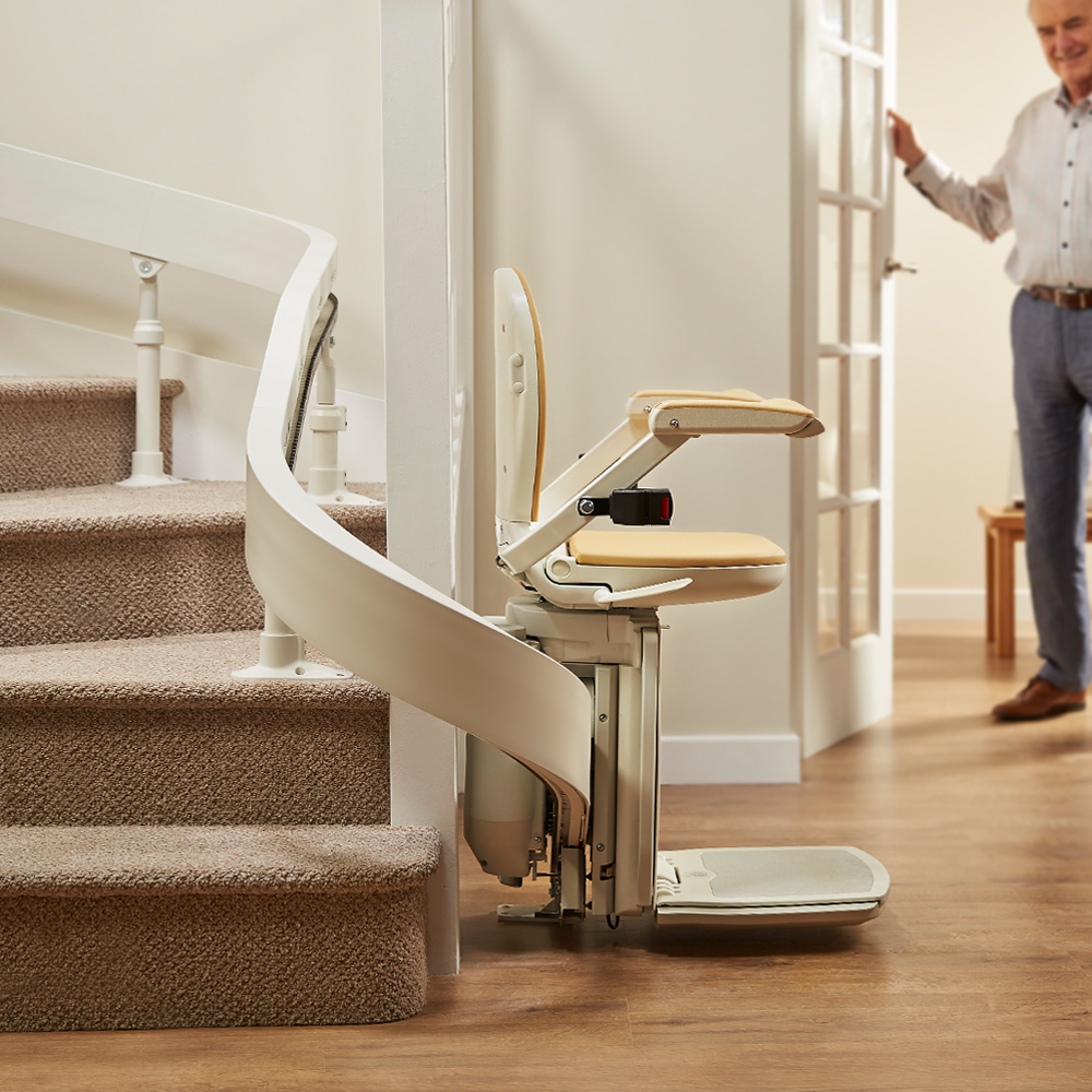 Acorn 130 Curved Stairlift Holt Mobility Centre